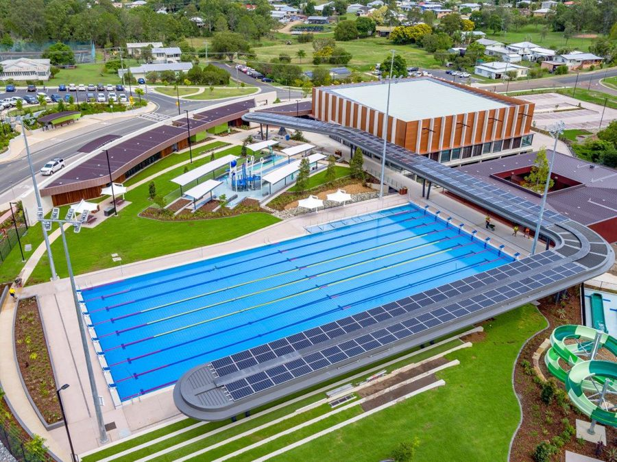 Gympie Aquatic Centre – Halcol Energy Solar Installation