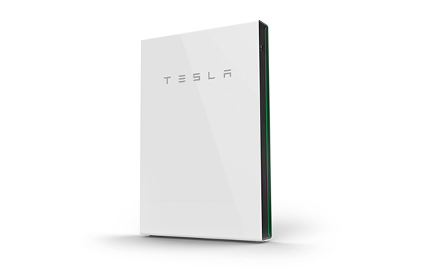tesla unit with white background